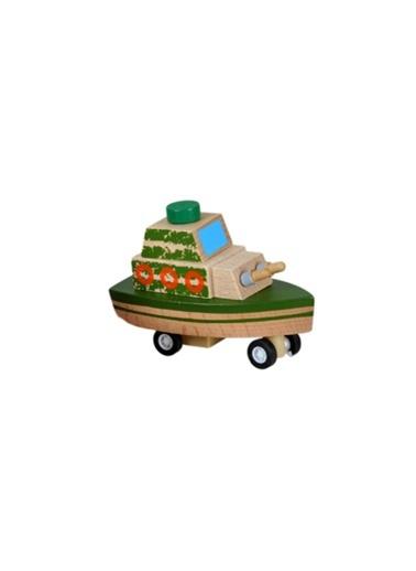 Çek-Bırak Ahşap Gemi-Learning Toys